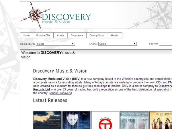 discoverymusicandvision.com